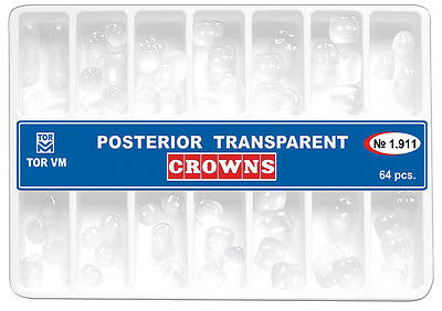 Posterior Transparan Strip Kron Set No:1.911