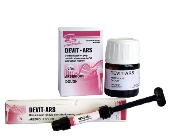 DEVIT ARS - معجون زرنيخي لنزع حيوية اللب السني