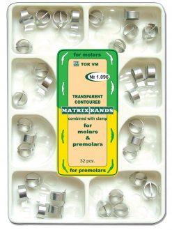Premolar ve Molar Transparan Konturlu matris Bandı No:1.096